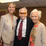 Chancellor Feyten with Dr. and Mrs. Woodcock